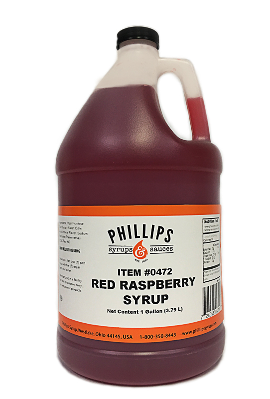 472 Red Rasp Syrup