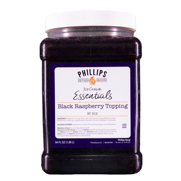 Black Raspberry Topping