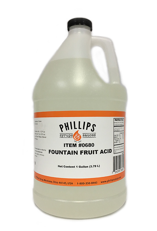680 Fountain fruit acid